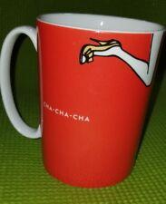 Lenox KATE SPADE Mug Things We Love CHA-CHA-CHA Red Porcelain Coffee New York
