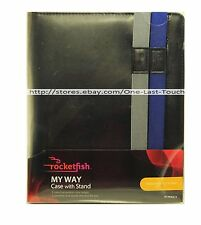 ROCKETFISH Interchangecble Straps MY WAY Case with Stand For iPAD 2 or Later NEW