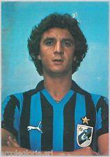 59612   -  CARTOLINA  CALCIATORE -  CALCIO  -  INTER  :  Evaristo Beccalossi