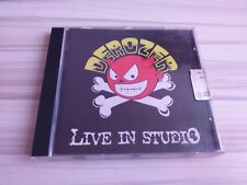 Cd Punk Italiano Derozer Live In Studio RARO FUORI CATALOGO