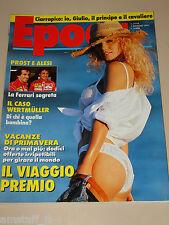 EPOCA=1991/2116=LINA WERTMULLER=MOANA POZZI=ALESI PROST FERRARI=SILVIO ORLANDO=