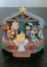 """Charlie Brown Hallmark Peanuts Nativity 2006 """"Thats what christmas is all about"""""""