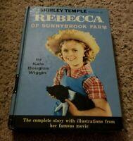 SHIRLEY TEMPLE Movie PHOTO Tie-in REBECCA OF SUNNYBROOK FARM Kate Douglas Wiggin