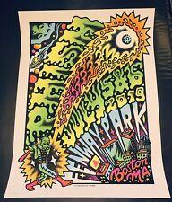Phish Poster TallBoy Boston Fenway 2019 Print pop up shop! #417/1200 Not Welker