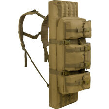Mil-Tec Rifle Case Medium Tactical Shooting Airsoft MOLLE Hunting Gun Bag Coyote