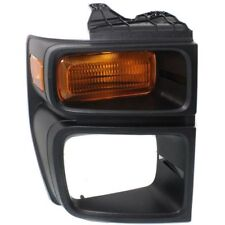 For E-250 08-14, CAPA Passenger Side Parking Light, Amber Lens