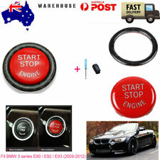 Vehicle Start Button Ring Replace Kit For BMW 3series E90 E92 E93 2009-2012 Red