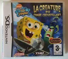 Bob L'éponge La Créature Du Crabe Croustillant - Nintendo DS - Complet