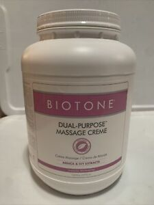 BIOTONE Dual Purpose Massage Cream -128 ounces