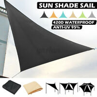 Outdoor Sun Shade Sail Garden Patio Sunscreen Awning Canopy UV Block