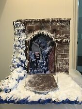Diorama Decoration Scene Myth Cloth Saint Seiya Castello Di Asgard Per Detolf