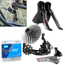 SENSAH EMPIRE 2x12-Speed Shifter Kit Front Rear Derailleur  for Road Bicycle Blk