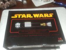 Master Replicas Star Wars Obi-Wan Kenobi .45 Scale Gold Replica Lightsaber