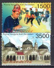 Indonesia - 2002 Nanggroe Aceh Darussalam province - Mi. 2183-84 MNH