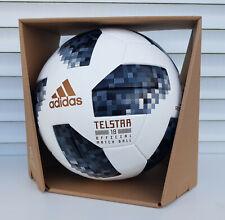 neu adidas matchball telstar 18 wm russia 2018 football ballon soccer pallone -a