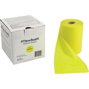Thera-Band (Yellow) by the FOOT Thin--Resistance + Free Shipping