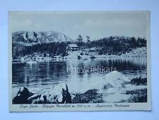 Lago Santo Rifugio Marchetti Modena vecchia cartolina