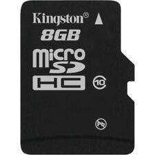 Kingston microSDHC 8 GB Memory Card