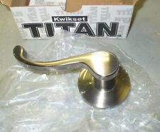 NEW Kwikset Titan Chelsea X Dummy Handleset 802 LIP 10B Entry Door Oil Rb Bronze