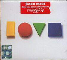 JASON MRAZ CD LOVE IS A FOUR LETTER WORD sigillato 2012 sealed