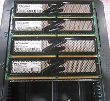 OCZ 8GB (4 X 2GB) DDR2 PC2-6400 800Mhz DESKTOP MEMORY NON-ECC KIT