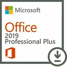 Microsoft Office Ms Office 2019 Professional Plus Dvd + Product Key 1Pc