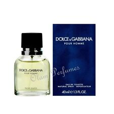 Dolce & Gabbana Pour Homme Men Edt Spray 1.3oz 40ml * New in Box Sealed *