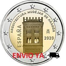 ESPAÑA 2 EUROS 2020 CONMEMORATIVA CC. ARQUITECT MUDEJAR DE ARAGÓN UNC - ENVÍO YA