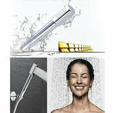 Handheld Shower Head Copper Modern Rainfall Hand Shower Bath Head Round Bar