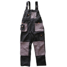 Protective Bib and Brace Overall Work Dungarees Trousers Pants, Wearable XL