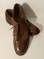 Allen Edmonds Cortland Black Leather Cap Toe Derby Oxfords Dress Shoes Men 12d