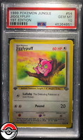 1999 Pokemon Jungle Jigglypuff 1st Edition #54 PSA 10 Gem-Mint