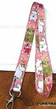 THE MOOMINS CHARACTERS PRINTED LANYARD NECK STRAP ID HOLDER LITTLY MY MOOMIN