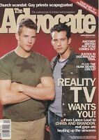 The Advocate April 30 2002 Chris Beckman Brandon Quinton 060719DBE