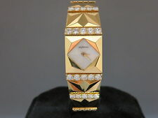 DeLaneau Palm Beach in 18k YG w/ a Diamond Bracelet