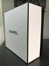 NEW BLACK WHITE CHANEL EMPTY SQUARE BOX  package 1