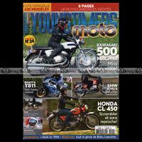 YOUNGTIMERS MOTO 24 KAWASAKI 500 H1 MACH 3 BMW R90/6 HONDA CL 450 K4 MALAGUTI