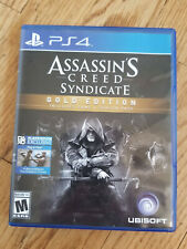 Assasins Creed Syndicate Gold Edition  Playstation 4  PS4 Game In Box