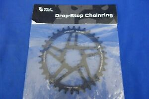 New Wolf Tooth Drop-Stop 36t Sram Direct Mount Chainring BB30/49mm Chainline