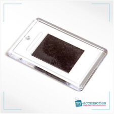More details for blank clear plastic photo fridge magnet - insert size 70x45mm l4 high quality
