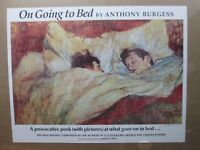 IN BED on going to to bed 1982 Book vintage poster advertisement Inv#G1833