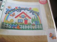 'Home Sweet Home' Jane Henderson cross stitch chart (only)