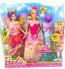 Barbie Cuento De Hadas Vestido dreamtopia 18 + se ve Muñeca Barbie 3 en 1