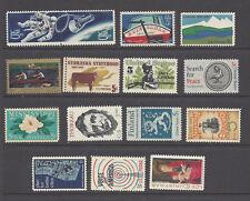 U.S. 1967 Commemorative Year Set 15 MNH Stamps