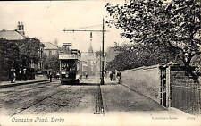 Derby. Osmaston Road # 46179 by Valentine's. Tram.