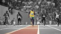 Usain Bolt - Jamaica Fastest Man Wall Art Large Poster / Canvas Picture Prints