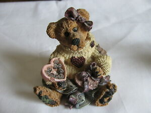 BOYDS BEARS & FRIENDS STYLE #2273 BAILEY...HEART'S DESIRE