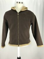 Outback Trading Company Long Sleeve Zip Up Women's Size Large Jacket EUC