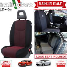 SET COPRISEDILI Adattabili SEAT IBIZA/LEON/ALTEA Fodera Fodere Foderine Rosso 09