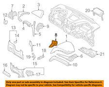 HYUNDAI OEM Santa Fe Instrument Panel Dash-Air Vent Grille Right 974204Z000UU5